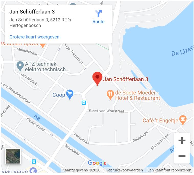 google maps – Wijkgebouw de Slinger
